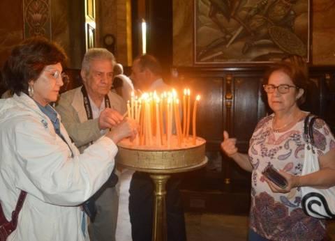 """وفد """"إحياء الجذور"""" يزور البطريركية اليونانية الأرثوذكسية بالإسكندرية"""