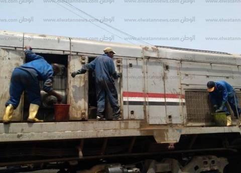 تعطل قطار ركاب لمدة ساعة بسوهاج