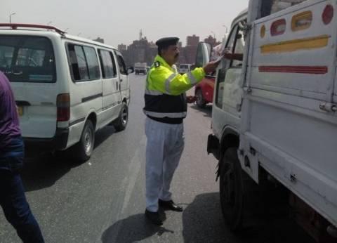 """""""المرور"""": غلق كوبري العمرانية بدءا من اليوم وحتى صباح الأحد"""