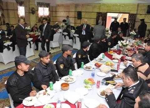 """الأمن المركزي يستضيف أسر شهداء رجال الشرطة للمشاركة في احتفالية """"عيد الشرطة"""""""