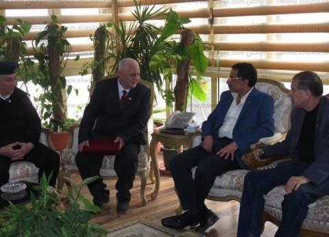 """""""مصر بلدي"""" يقدم التهاني لمدير أمن الإسماعيلية بمناسبة أعياد الشرطة"""