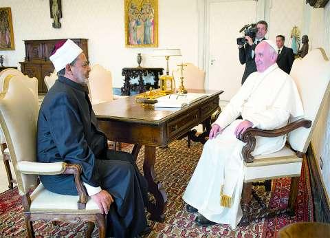 """""""الوطن"""" تنشر تفاصيل الزيارة التاريخية لبابا الفاتيكان لمصر غدا"""