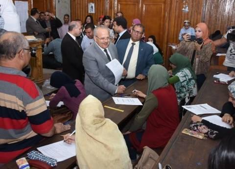 رئيس جامعة القاهرة: إنهاء الامتحانات بالكليات قبل عيد الفطر