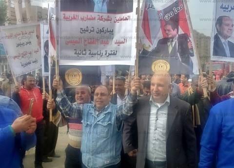 """""""مصر السلام"""" تعقد تدريبا لشباب سيناء على متابعة الانتخابات الرئاسية"""