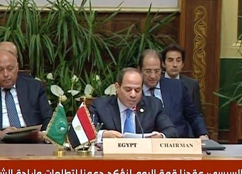 عاجل| السيسي: هناك حاجة عاجلة لمعالجة الأوضاع الحالية في السودان