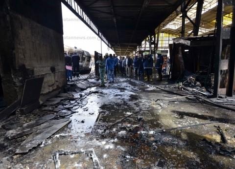 مصدر: القبض على سائق الجرار المتسبب في كارثة محطة مصر