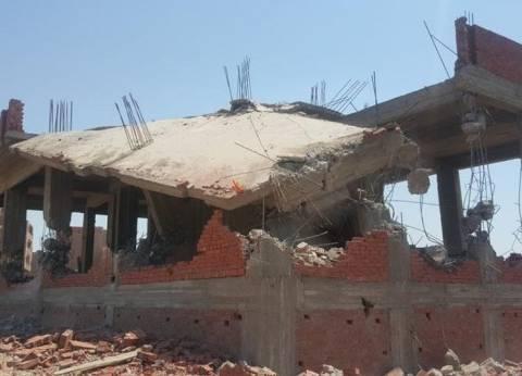حملة لأمن الإسكندرية تضبط مخالفة مباني دون ترخيص