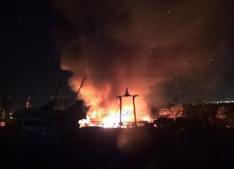 إصابة شخصينإثر اندلاع حريق بمنزل بمركز البداري في أسيوط