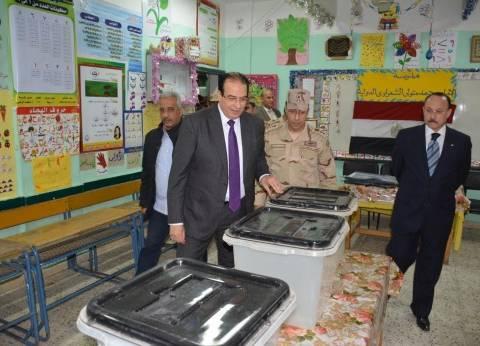 محافظ الدقهلية: انتظام العمل باللجان وتوافد المواطنين بكثافه للتصويت