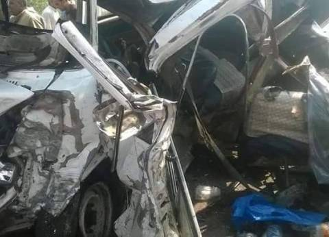 مصرع سائق وإصابة 3 في حادث تصادم على طريق الساحل غرب الإسكندرية