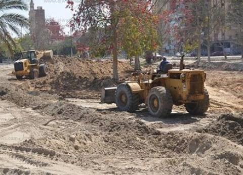 استمرار رفع وإزالة تجمعات القمامة والمخلفات في الإسماعيلية