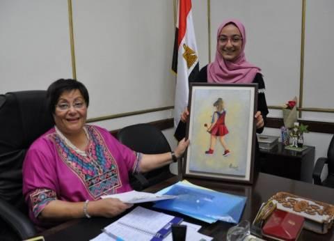 مساعد وزير التعليم لشؤون المديريات تستضيف الموهوبين بمدرسة أمجاد
