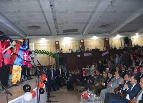 """""""عشماوي"""" يشهد احتفال القليوبية بعيدها القومي"""