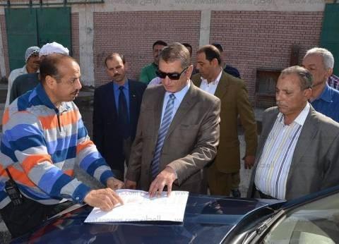 محافظ كفر الشيخ يحيل مخالفات الرصف بمصيف بلطيم للنيابة العامة