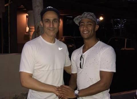 مفاجأة.. محمد رمضان يحذف صورته مع جمال مبارك