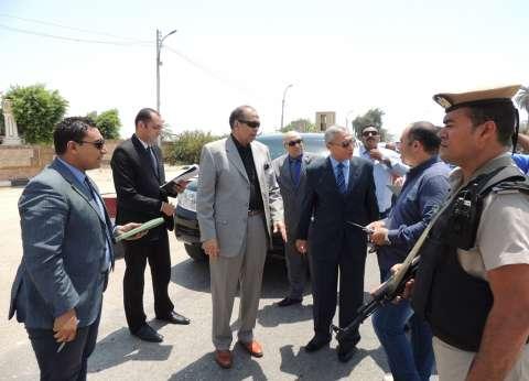 مساعد وزير الداخلية ومدير أمن المنيا يتفقدان المواقع الشرطية