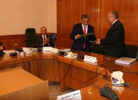 """اتفاقية بين """"الري"""" و""""البيئة"""" لتحسين إدارة استخدام المياه"""