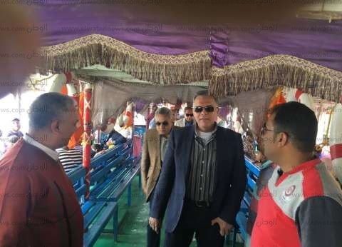 وزير النقل يتفقد المراسي النهرية لمتابعة أمن وسلامة المراكب النيلية