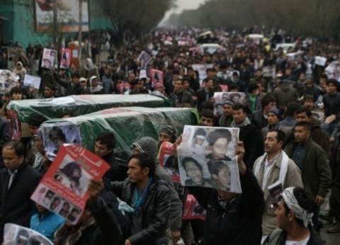 تظاهرة لأقلية شيعية في كابول احتجاجا على حرمانهم من مشروع كهربائي