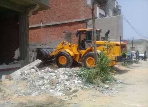 """إعادة 1050 متر مربع بالإسكندرية تابعة لـ""""الأوقاف"""" بعد إزالة التعديات"""
