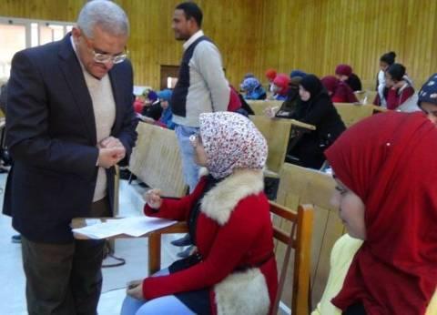ضبط 40 حالة غش في امتحانات جامعة المنيا
