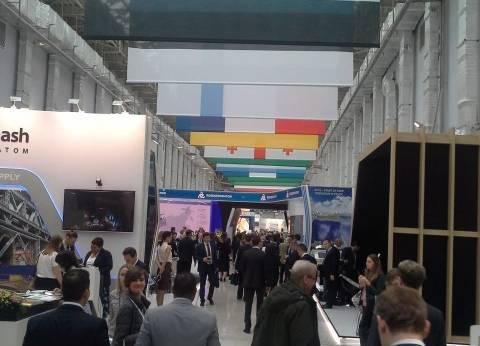 العلم المصري يتصدر المشهد بالمنتدى الدولي للطاقة النووية في روسيا
