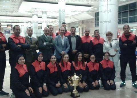 بعثة الشرطة المصرية تفوز بكأس أولمبياد الشرطة الدولية في الإمارات