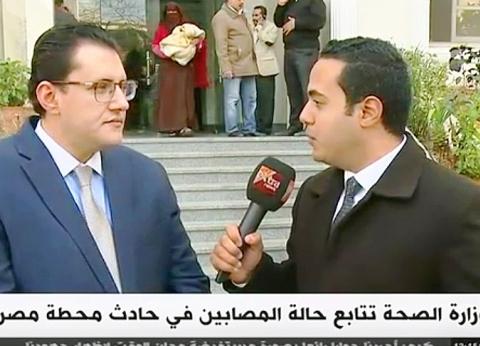 متحدث «الصحة»: حريق محطة مصر خطأ فردي لا يمثل الحكومة