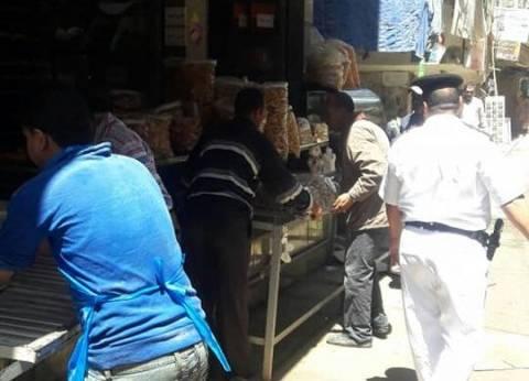 حملة مكبرة بنطاق حي شرق بالإسكندرية لإزالة التعديات والإشغالات