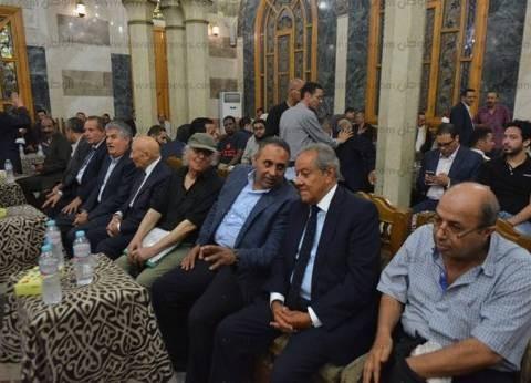 وصول بدراوي وعبدالعال وزهران والشوبكي إلى عزاء حسين عبدالرازق