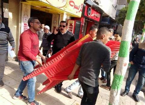 حملة مكبرة لإزالة التعديات والمخالفات بحي شرق في الإسكندرية