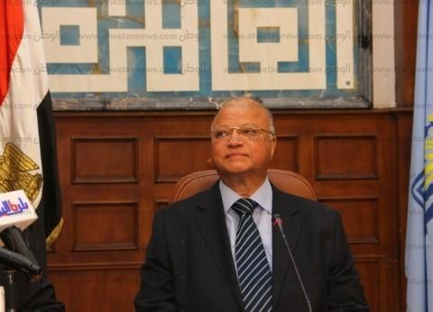 محافظ القاهرة يوجه بتحسين حركة المرور استعدادا لحركة مليوني طالب