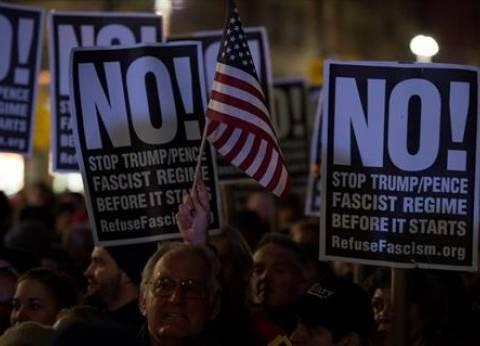 عاجل  أمريكيون يحطمون واجهات المحلات في واشنطن احتجاجا على تنصيب ترامب