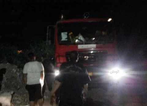 إخماد حريق محدود بمزرعة للموالح في بني سويف