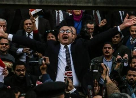"""خالد علي: سنقف ضد طرح اتفاقية """"تيران وصنافير"""" للنقاش بـ""""النواب"""""""