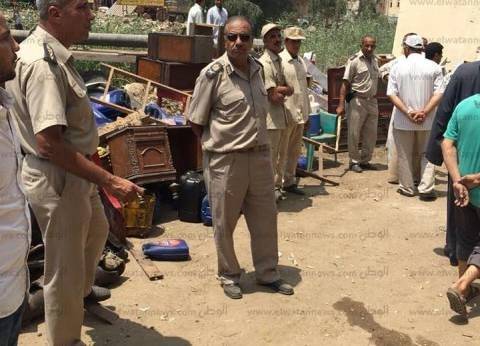 """""""أمن كفر الشيخ"""" ينفذ 19 قرار إزالة تعديات على الأرض الزراعية"""