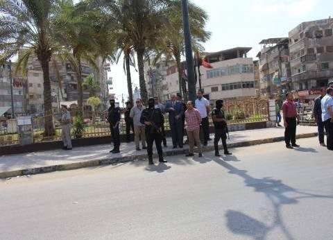 مدير أمن دمياط يتفقد منشآت شرطية: مستعدون دوما للتضحية