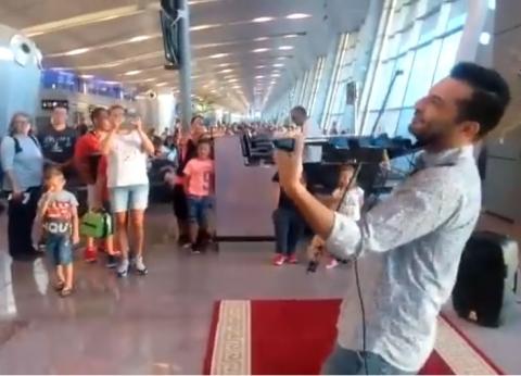 """بهجة و""""كامنجا"""".. موسيقى عربية وعالمية للمسافرين عبر مطار الغردقة"""