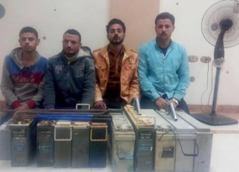 الأمن العام: ضبط تشكيل عصابي بتهمة سرقة 5 أبراج محمول في الغربية