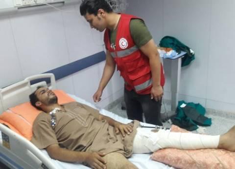 7 أطنان مساعدات طبية لقطاع غزة من الهلال الأحمر المصري