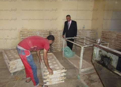 رئيس أبو رديس يتفقد مخابز المدينة ويشدد على النظافة