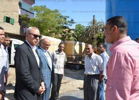 محافظ قنا يتفقد أعمال إحلال وتجديد مستشفى دشنا المركزي