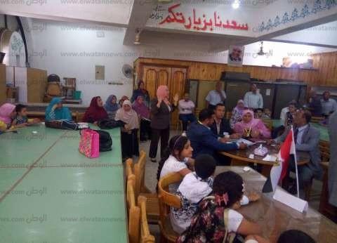 فوز إداراتي ناصر وبني سويف في مسابقة التهجئة في بني سويف
