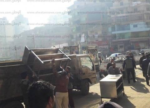 تحرير 110 قضية في حملة مرافق بمدينة مرسى مطروح
