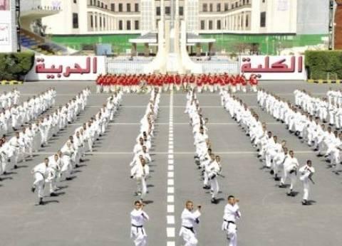 """الكلية الحربية تستقبل وفدا من """"الشباب والرياضة"""" وطلبة مدارس العريش"""