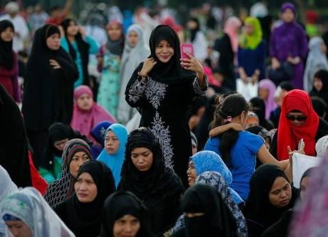 بالصور| صلاة عيد الأضحى المبارك في الفلبين