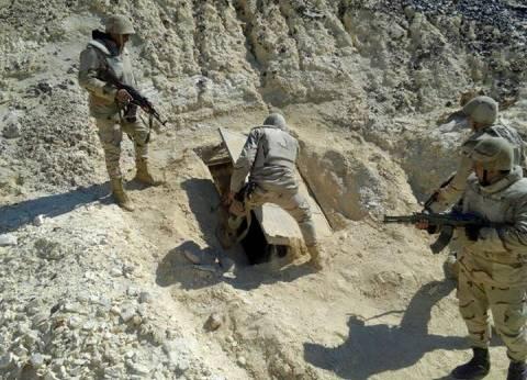بالصور  المتحدث العسكري: تصفية إرهابي بوادى المطامير في سيناء