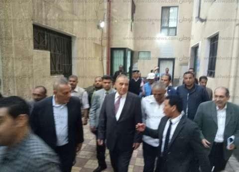 بالصور| وزير التنمية المحلية ومحافظ الجيزة يتفقدان المقرات ببولاق الدكرور