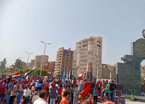 """""""رياضة الغربية"""": ذكرى تحرير سيناء جاءت مع نجاح الاستفتاء.. سعادة وطنية"""