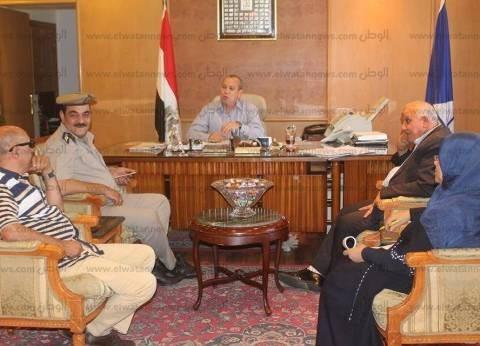 بالصور  محافظ دمياط يقرر فتح سجل مدني بديوان عام المحافظة